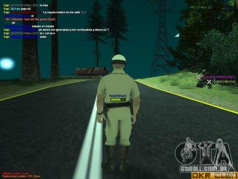 HQ texture for MP para GTA San Andreas por diante tela