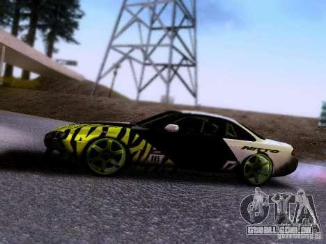 Nissan Silvia S14 Matt Powers v3 para GTA San Andreas vista traseira