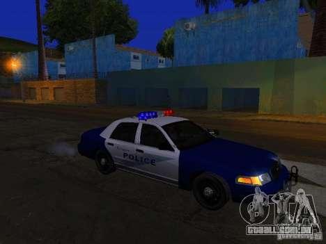 Ford Crown Victoria Belling State Washington para GTA San Andreas vista inferior