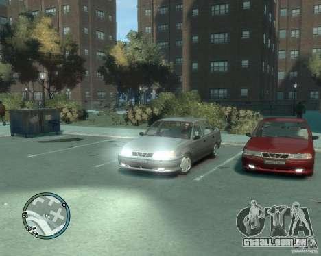 Daewoo Nexia DOHC para GTA 4 vista direita