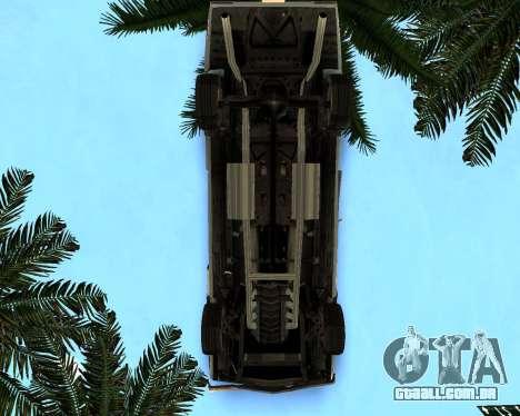 EON Stallion GT-A para GTA San Andreas vista interior