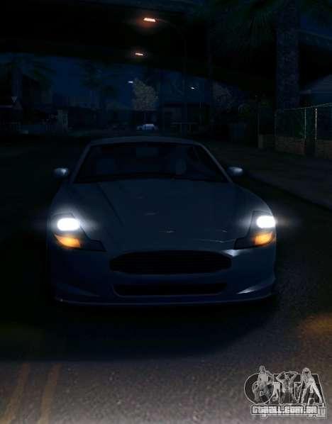 IVLM 2.0 TEST №5 para GTA San Andreas por diante tela