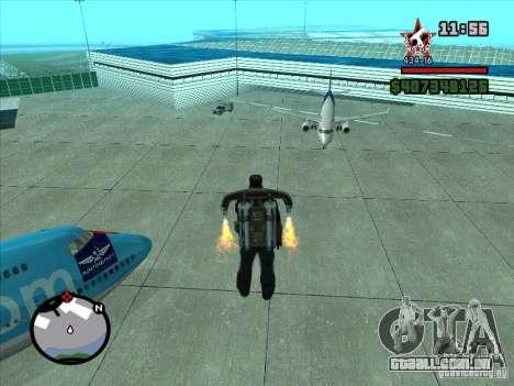 Um novo aeroporto em San Fierro para GTA San Andreas sétima tela