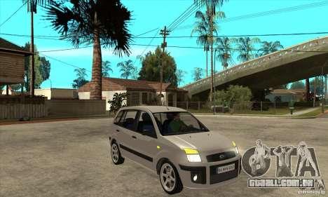Ford Fusion 2009 para GTA San Andreas vista traseira