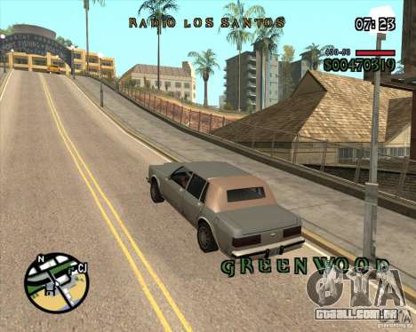 New Fonts para GTA San Andreas