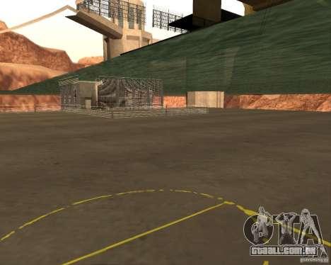 Base do dragão para GTA San Andreas por diante tela