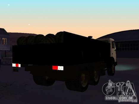 KAMAZ 53212 aberto para GTA San Andreas vista direita