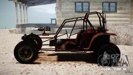 Half Life 2 buggy para GTA 4 vista de volta