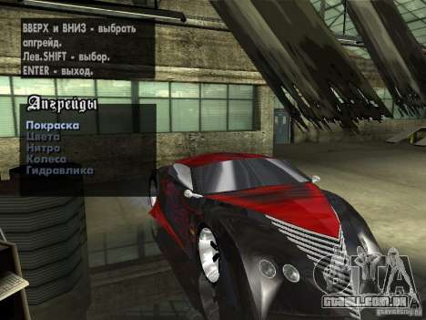 Thunderbold SlapJack para o motor de GTA San Andreas