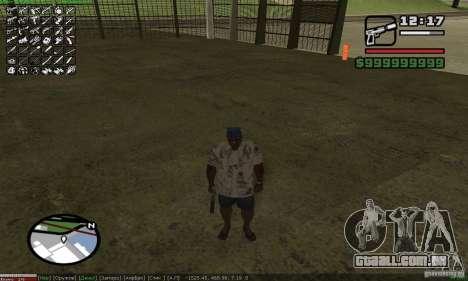A escolha de armas (armas) para GTA San Andreas