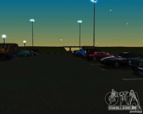 Carros no estacionamento em Anašana para GTA San Andreas segunda tela
