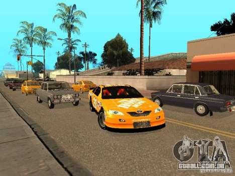 Toyota Camry Nascar Edition para GTA San Andreas