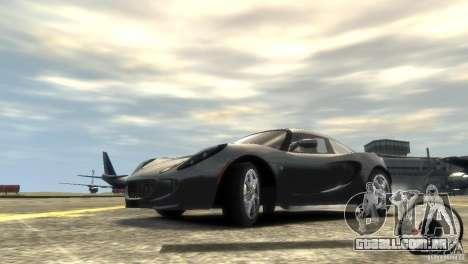 Lotus Elise v2.0 para GTA 4 vista superior