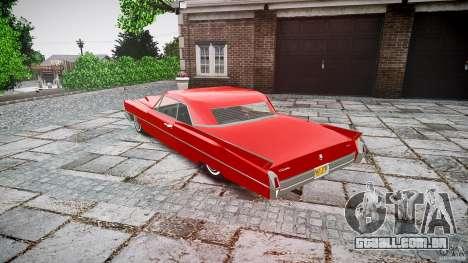 Cadillac De Ville v2 para GTA 4 traseira esquerda vista