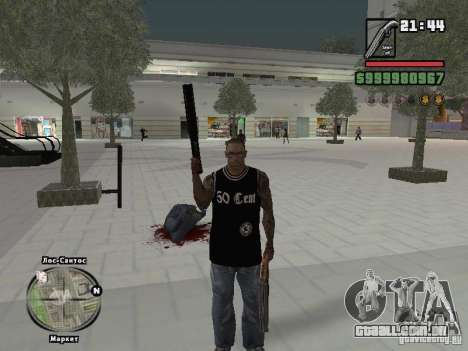 parte superior do tanque de 50 cent para GTA San Andreas