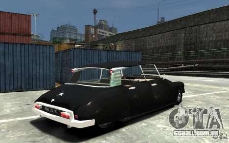 Citroen ID 19 para GTA 4 vista direita