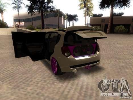 Chevrolet Aveo Tuning para GTA San Andreas traseira esquerda vista