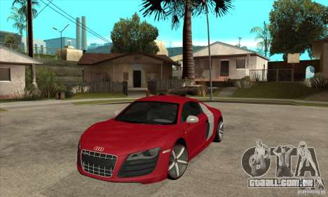 Audi R8 V10 para GTA San Andreas