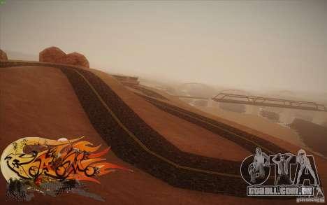 New Roads Las Venturas v1.0 para GTA San Andreas sexta tela