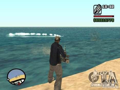 Overdose effects V1.3 para GTA San Andreas