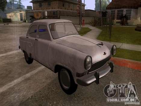 GAZ 21 Volga para GTA San Andreas vista direita