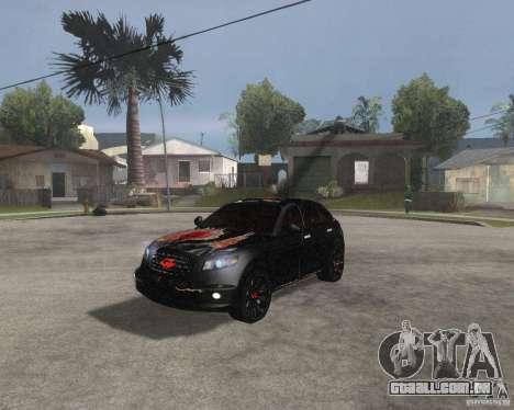 Infiniti FX35 para GTA San Andreas