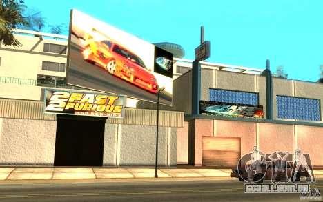 2Fast2Furious Transfender & Pay and Spray para GTA San Andreas