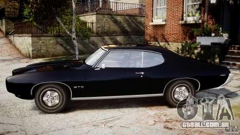 Pontiac GTO Judge para GTA 4 esquerda vista