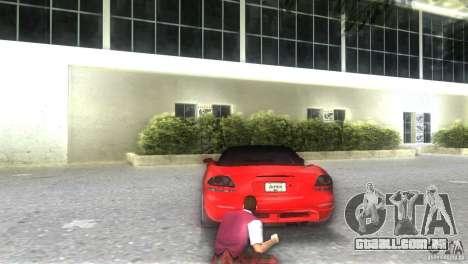 Dodge Viper SRT 10 Coupe para GTA Vice City deixou vista