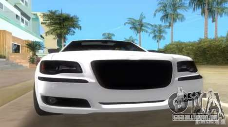 Chrysler 300C SRT V10 TT Black Revel 2011 para GTA Vice City vista direita