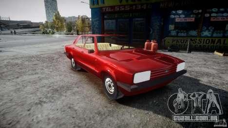 Ford Taunus para GTA 4 vista direita