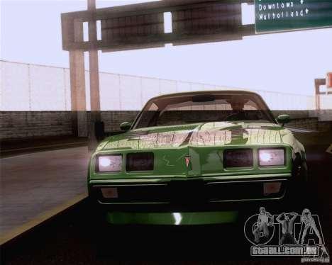 Optix ENBSeries Anamorphic Flare Edition para GTA San Andreas terceira tela