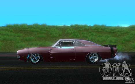 Dodge Charger RT 69 para GTA San Andreas esquerda vista