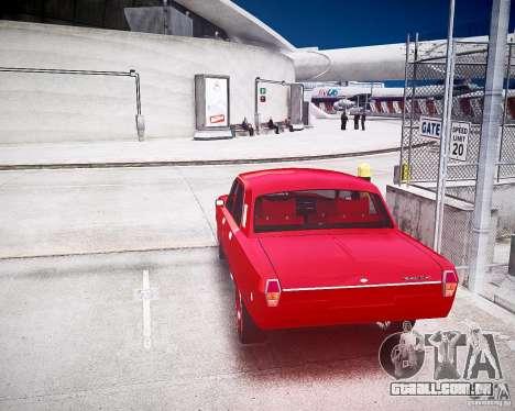 2410 gás v8 para GTA 4 traseira esquerda vista