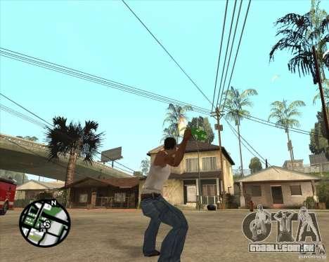 RiCkys Molotov Cocktail para GTA San Andreas terceira tela