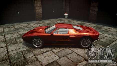 Ford GT para GTA 4 esquerda vista