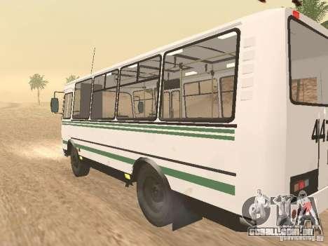 SULCO 32054 para GTA San Andreas vista direita