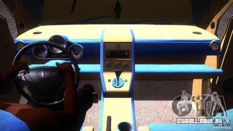 Honda Element LX para GTA San Andreas vista inferior