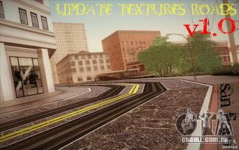 New roads San Fierro para GTA San Andreas segunda tela