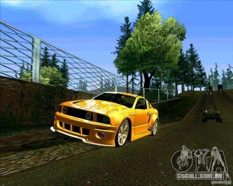 ENBseries V0.45 by 1989h para GTA San Andreas por diante tela