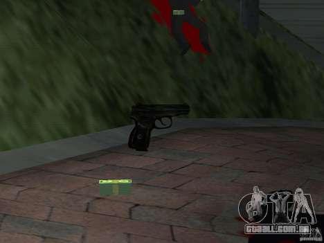 Pak versão doméstica armas 4 para GTA San Andreas sétima tela