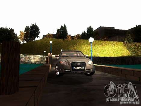 Audi A4 3.0 TDI Quattro 2005 para GTA San Andreas vista traseira