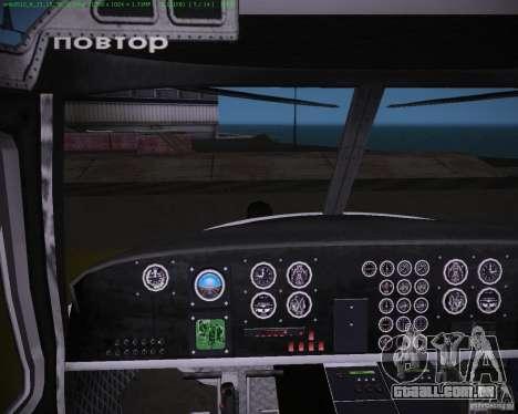 HD Maverick para GTA Vice City vista direita