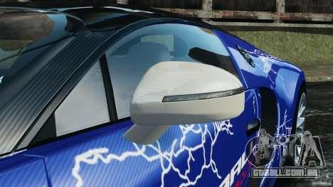 Bugatti Veyron 16.4 Super Sport 2011 v1.0 [EPM] para GTA 4 vista superior