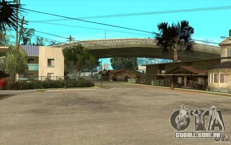 New Grove Street TADO edition para GTA San Andreas segunda tela