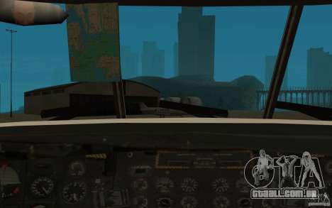 GTA SA Chinook Mod para vista lateral GTA San Andreas