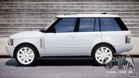 Range Rover Supercharged 2009 v2.0 para GTA 4 esquerda vista