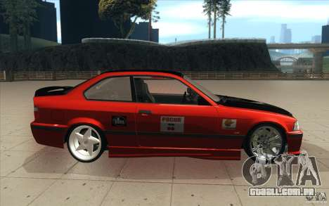 BMW Fan Drift Bolidas para GTA San Andreas vista interior