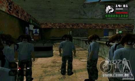 Headcrab para GTA San Andreas por diante tela