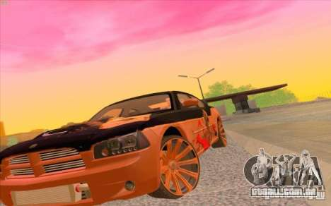Dodge Charger SRT 8 para GTA San Andreas esquerda vista
